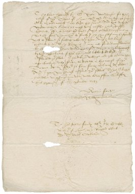 Letter from Nathaniel Bacon to John Grickby (mayor of King's Lynn), Mr. Richard Clerk, and Thomas Overend : copy