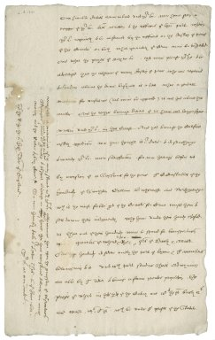 Letter from Nathaniel Bacon to Lord Buckhurst