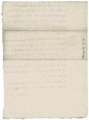 Letter from Nathaniel Bacon to the Earl of Sussex : copy