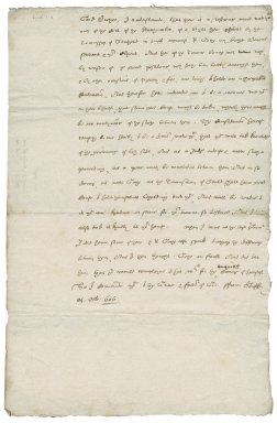 Letter from Nathaniel Bacon to Sir Francis Bacon : copy