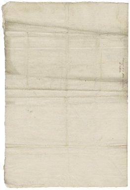 Letter from Nathaniel Bacon to Lord Ellesmere : draft
