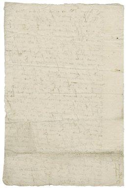 Letter from Nathaniel Bacon to [John] Jenn[ings]