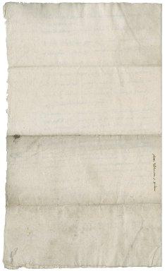 Letter from Nathaniel Bacon to Sir John Doddridge