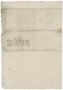Letter from Sir Nicholas Bacon, 1st bart, to Nathaniel Bacon