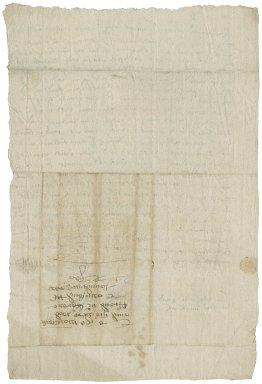 Letter from William Baker to R[oger] Townshend (1543?-1590)
