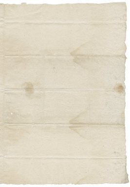 Letter from Thomas Banks to Nathaniel Bacon