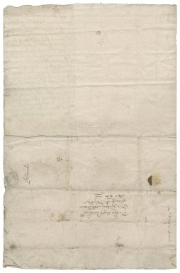 Letter from Thomas Baxter to Nathaniel Bacon