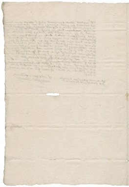 Letter from Margaret Berney to Nathaniel Bacon
