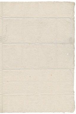 Letter from John Blofield to Nathaniel Bacon