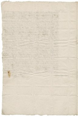 Letter from Richard Bolter to Roger Townshend, 1st bart.