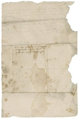Letter from Robert Bozoun to Nathaniel Bacon