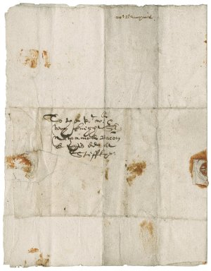 Letter from Henry Branthwayt to Nathaniel Bacon