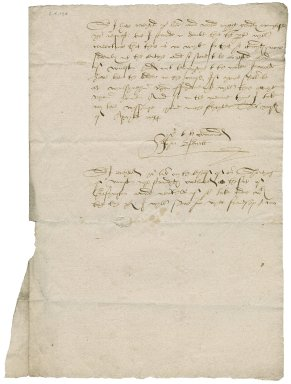 Letter from John Brett to Nathaniel Bacon