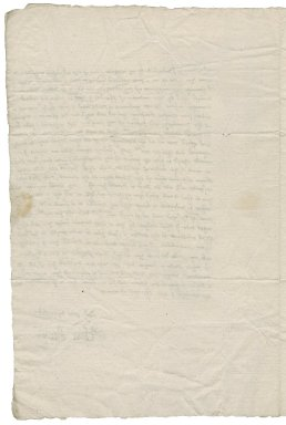 Letter from Elinor Breton to Michael Stanhope