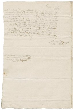 Letter from Thomas Browne to Nathaniel Bacon