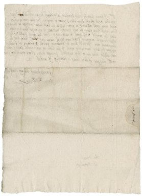 Letter from Jane Bullock to [Nathaniel Bacon]