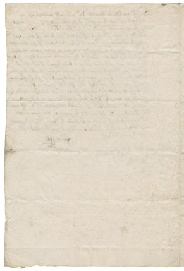 Letter from John Bussell to Nathaniel Bacon