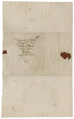 Letter from John Chappell to Roger Townshend, 1st bart