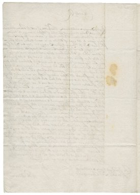 Letter from Charles II, King of England, to Horatio Townshend, Baron Townshend