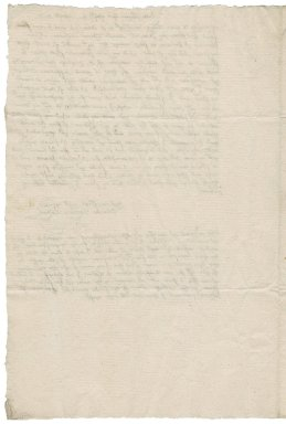 Letter from Richard Clarke to Nathaniel Bacon