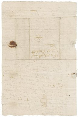 Letter from Edward Clere to Nathaniel Bacon