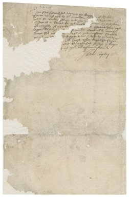 Letter from Henry Cropley to John Lynes or Thomas Brown