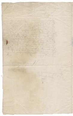 Letter from William Crowmer to Roger Townshend, 1st bart.