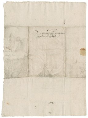 Letter from Christopher Daubeny to Nathaniel Bacon