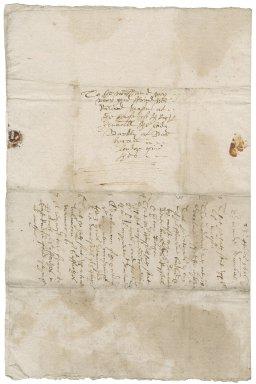 Letter from Edmund Dawber to Richard Mason