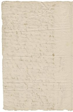 Letter from Edmund Dawber to Roger Townshend, 1st bart.