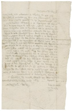Letter from William Dillingham to [Horatio Townshend, Viscount Townshend]