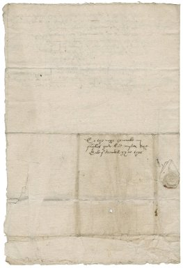 Letter from William Dix to Philip Howard, Earl of Arundel
