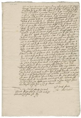 Letter from Thomas Sackville, Earl of Dorset, to officials at Lyme or Lynn (King's Lynn)