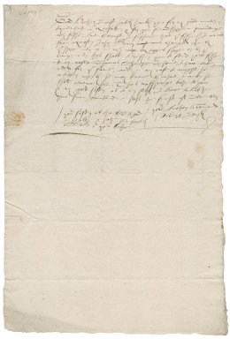 Letter from Robert Doyly to Nathaniel Bacon