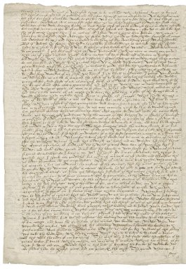 Letter from Stephen Drury to Nathaniel Bacon