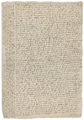 Letter from Stephen Drury to Roger Townshend (1543?-1590)