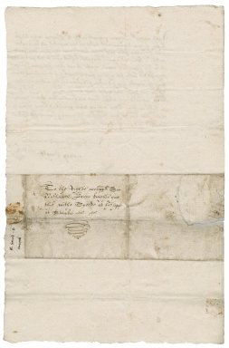 Letter from John Ducke to Nathaniel Bacon