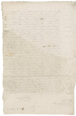 Letter from Nicholas Eston to Lady [Jane?] Townshend