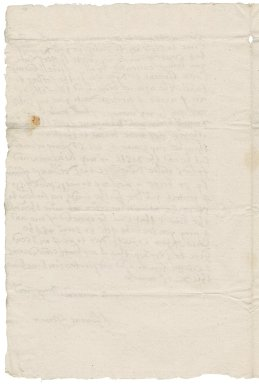 Letter from Thomas Farmer (i.e. Fermor) to Nathaniel Bacon