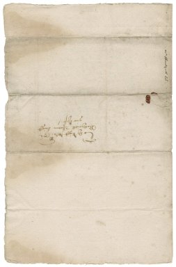 Letter from John Fonteyne to Nathaniel Bacon