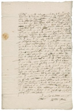 Letter from Richard Foster to Nathaniel Bacon