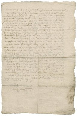 Letter from Thomas Fowle, prebendary of Norwich Cathedral, to [Nathaniel Bacon]