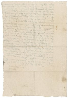 Letter from Thomas Gawdy to [Nathaniel Bacon]