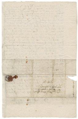 Letter from Henry Gibson to Richard Spratt