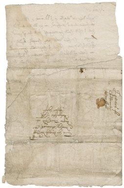 Letter from Thomas Goddard to Roger Townshend, 1st bart.