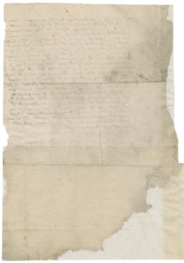 Letter from Roger Godsalve to [Richard?] Mason
