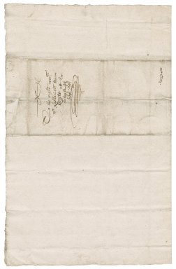 Letter from Edward Golty to Nathaniel Bacon