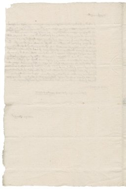 Letter from Thomas Gooch to Nathaniel Bacon