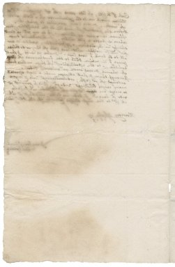 Letter from George Goodwin to Roger Townshend, 1st bart.