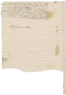Letter from John Goodwin [(1594?-1665)?] to Nathaniel Bacon